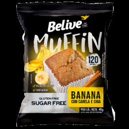Muffin Belive Gluten Free Sugar Free Banana Com Canela.png