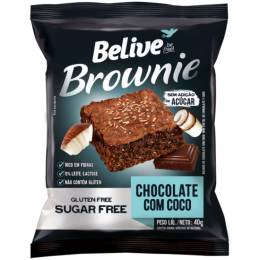 Brownie Belive Gluten Free Sugar Free Chocolate com Coco.png