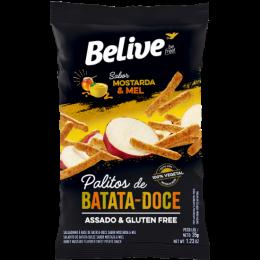 Palitos Batata Doce Belive Mostarda e Mel Assado Gluten Free.png